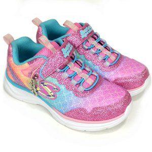Skechers Little Girls Glitter Sparkly Sneakers 13